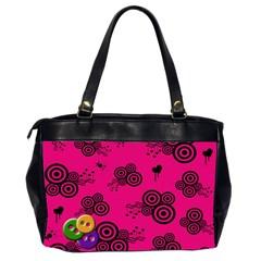 Retro Bag By Carmensita   Oversize Office Handbag (2 Sides)   Akz1wxydrdxp   Www Artscow Com Back
