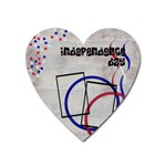 Independence day - Magnet - Magnet (Heart)