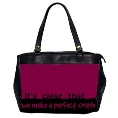 Perfect Couple   Bag By Carmensita   Oversize Office Handbag (2 Sides)   Jqcsyvpvq0u3   Www Artscow Com Front