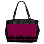 Perfect couple - BAG - Oversize Office Handbag (Two Sides)