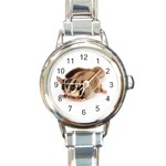 CUTE SUGER GLIDER FLYING ANIMAL ROUND ITALIAN CHARM WATCH