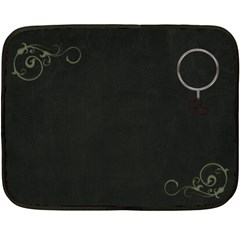 Mom Blanket By Casey Collins   Double Sided Fleece Blanket (mini)   O16w4plxh59w   Www Artscow Com 35 x27 Blanket Back