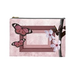Love Cosmetic Bag L By Carol   Cosmetic Bag (large)   E4990rfar2ib   Www Artscow Com Front
