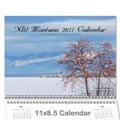 Nw Montana 2011 Calendar By Wendi Giles   Wall Calendar 11  X 8 5  (12 Months)   6fzqr9kxluw4   Www Artscow Com Cover