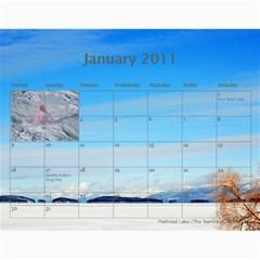 Nw Montana 2011 Calendar By Wendi Giles   Wall Calendar 11  X 8 5  (12 Months)   6fzqr9kxluw4   Www Artscow Com Jan 2011