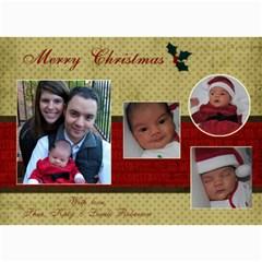 5 X 7 Christmas Cards By Katy   5  X 7  Photo Cards   Vltcy6o2zmrh   Www Artscow Com 7 x5  Photo Card - 1