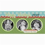 Happy Holidays 2010 Photo Card - 4  x 8  Photo Cards