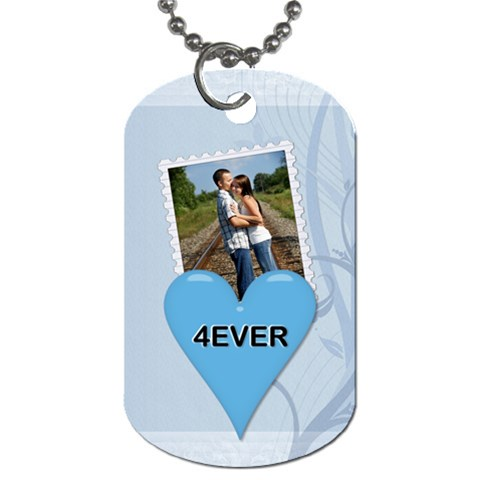 4ever 1 Sided Dog Tag By Lil    Dog Tag (one Side)   Sc1rtxtcp8t1   Www Artscow Com Front