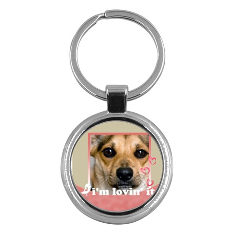 My Pet By Joely   Key Chain (round)   Mshq6zoh356b   Www Artscow Com Front