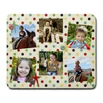 collage mouse pad  - Large Mousepad