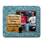 Fishing Large Mousepad