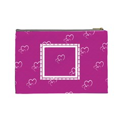 With Love   Large Purse By Daniela   Cosmetic Bag (large)   399naf67tnbx   Www Artscow Com Back