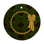 Gypsy Fall-2 Sided Ornament 1001 - Round Ornament (Two Sides)