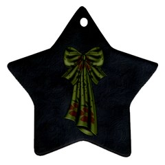 Gypsy Fall 2 Sided Star Ornament 1001 By Lisa Minor   Star Ornament (two Sides)   Mebou3ed90vt   Www Artscow Com Back