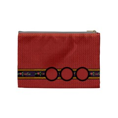 Gypsy Fall Cosmetic Bag Medium By Lisa Minor   Cosmetic Bag (medium)   9730bgzi18hr   Www Artscow Com Back