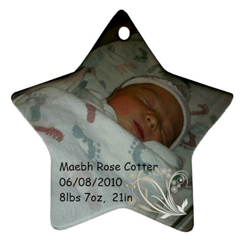 Maevh Ornament Star By Lauren Cotter   Ornament (star)   Uod78ksgojsu   Www Artscow Com Front