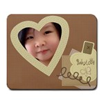 Baby Love Large Custom Mousepad - Large Mousepad