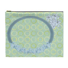 Flower Framed Cosmetic Bag Xl 3 By Galya   Cosmetic Bag (xl)   3rn288netnbw   Www Artscow Com Front