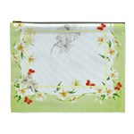 flower-framed cosmetic bag XL 4 - Cosmetic Bag (XL)