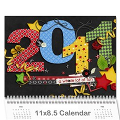 2010 Ashley By Emilee   Wall Calendar 11  X 8 5  (12 Months)   61x4z0wjpsla   Www Artscow Com Cover