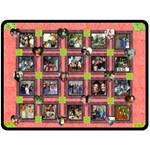 Mamaw present - Fleece Blanket (Large)