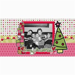 Merry Christmas Photo Card By Martha Meier   4  X 8  Photo Cards   8gko90z8tggc   Www Artscow Com 8 x4 Photo Card - 1