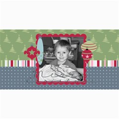 Merry Christmas Photo Card 2 By Martha Meier   4  X 8  Photo Cards   44qu9uiszmty   Www Artscow Com 8 x4  Photo Card - 4