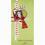 Happy Holidays 4x8 Card 1002 - 4  x 8  Photo Cards