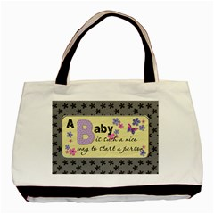 A Baby Is A Gift Of Love Classic Tote Bag By Lil    Basic Tote Bag (two Sides)   Gk18f5g0kyw5   Www Artscow Com Back