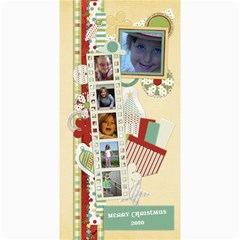 Happy Holidays 8x4 Card 1005 By Lisa Minor   4  X 8  Photo Cards   8ehpy3kqq7gx   Www Artscow Com 8 x4 Photo Card - 3