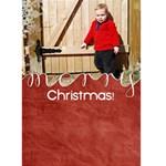 {ScrapDZines} Christmas Card 2 - Greeting Card 5  x 7