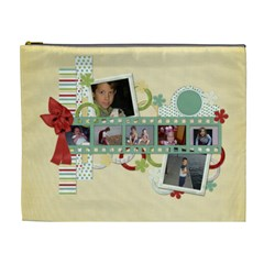 Hh Cosmetic Bag Large 1001 By Lisa Minor   Cosmetic Bag (xl)   Uk54czctkam1   Www Artscow Com Front