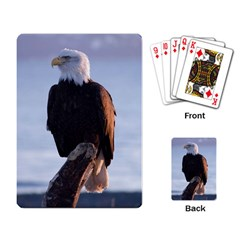 Bald Eagle 2 Playing Cards Single Design by photogiftanimaldesigns