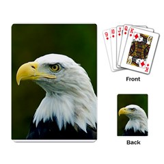Bald Eagle Playing Cards Single Design by photogiftanimaldesigns