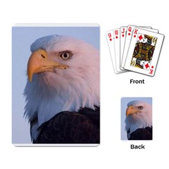 Bald Eagle 3 Playing Cards Single Design by photogiftanimaldesigns