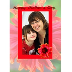 Mothers Day Garden Card By Patricia W   Greeting Card 5  X 7    O4aexv4u1sk0   Www Artscow Com Front Cover