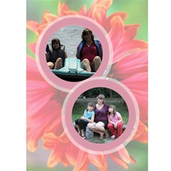 Mothers Day Garden Card By Patricia W   Greeting Card 5  X 7    O4aexv4u1sk0   Www Artscow Com Front Inside