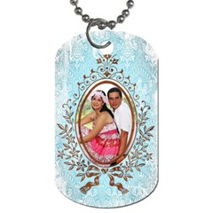 Romantice 2 Sided Dog Tag By Ivelyn   Dog Tag (two Sides)   Laarugma052r   Www Artscow Com Front