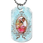 romantice 2 sided dog tag - Dog Tag (Two Sides)