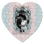 romantic heart puzzle - Jigsaw Puzzle (Heart)