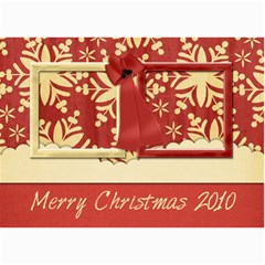 Happy Holidays 5x7 Card 101 By Lisa Minor   5  X 7  Photo Cards   Mqzhw3l1qzfu   Www Artscow Com 7 x5 Photo Card - 2