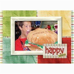 Happy Holidays 7x5 104 By Lisa Minor   5  X 7  Photo Cards   02xezi5xmzxi   Www Artscow Com 7 x5 Photo Card - 7