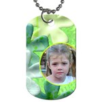 Frog salad dog Tag - Dog Tag (One Side)