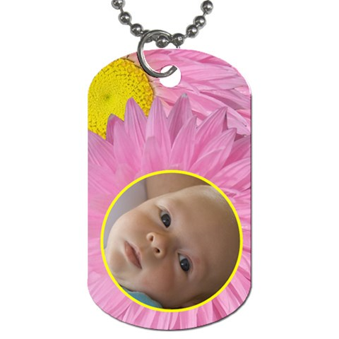 Everlasting Dog Tag By Joan T   Dog Tag (one Side)   Aysy4qle32ek   Www Artscow Com Front