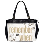 Remember When 2 Heritage oversized office bag - Oversize Office Handbag (2 Sides)