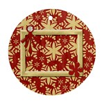 Happy Holidays Ornament 201 - Ornament (Round)
