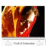 SureshCalendar - Wall Calendar 11  x 8.5  (12-Months)