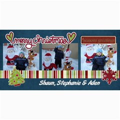 Christmas Card 2010 By Steph   4  X 8  Photo Cards   Bjg8bn7tpgcg   Www Artscow Com 8 x4 Photo Card - 2