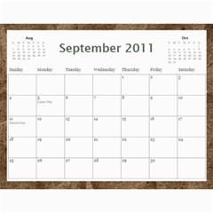 2011 Calendar By Lisa Willford   Wall Calendar 11  X 8 5  (12 Months)   C3l30c6yv424   Www Artscow Com Sep 2011