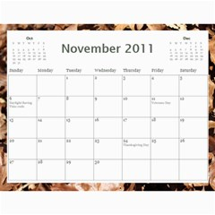 2011 Calendar By Lisa Willford   Wall Calendar 11  X 8 5  (12 Months)   C3l30c6yv424   Www Artscow Com Nov 2011